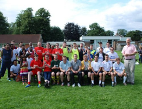 Interparty 5 a side football match – July 2012
