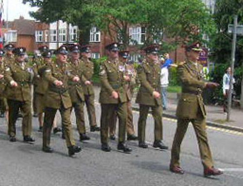 Military Parade – Epsom – June 2012