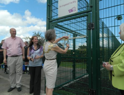 Official opening of Olympic legacy facility for Court Recreation Ground in Epsom & Ewell – July 2012