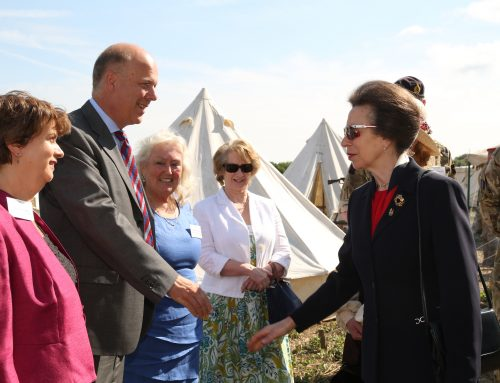 Princess Anne officially names Epsom's Centenary Wood