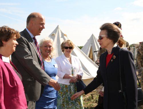 Princess Anne officially names Epsom's Centenary Wood