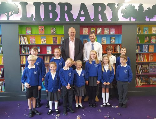 Nonsuch Primary School Unveils New Library