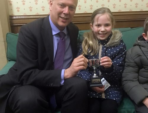 Christmas Competition Winner Visit to Parliament