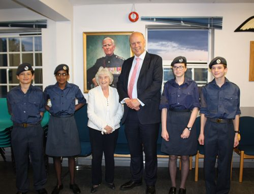 Visit to Epsom & Ewell Army and Air Cadets Squadron