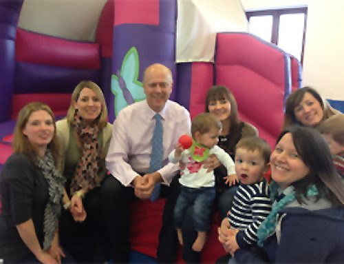 Chris visits Jellybugs softplay centre at The Harrier Centre