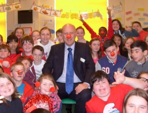 Comic Relief fun at Auriol School