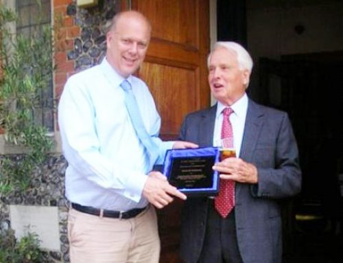 Cuddington Community Honours Local Citizens