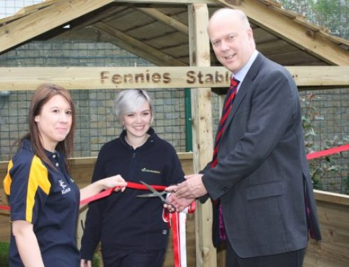 Chris Opens New Children's Nursery Fennies in Epsom