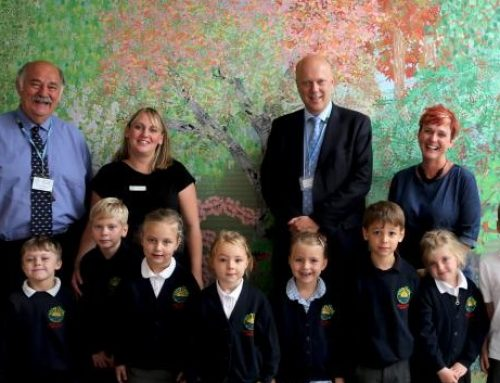 Chris visits West Ewell Infants school