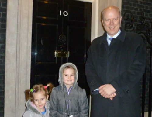Visit to Downing Street