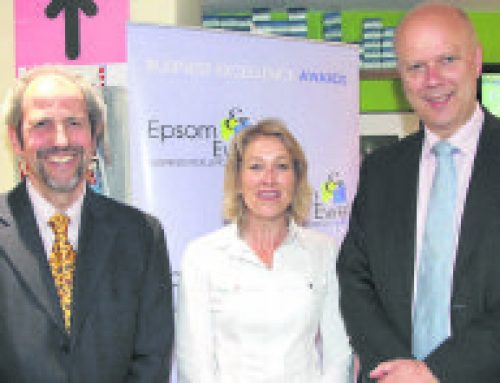 Chris launches Epsom & Ewell Business Awards for 2013