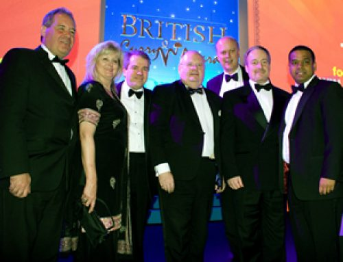 At the British Curry Awards – November 2010
