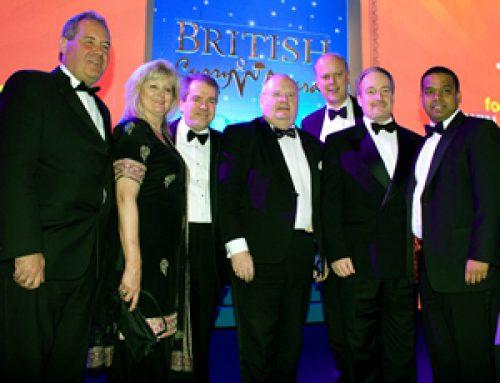 At the British Curry Awards – November 2010