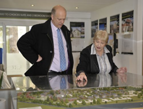 Up-skilling for the future takes centre stage Chris Grayling visits innovative Noble Park eco-homes – May 2012