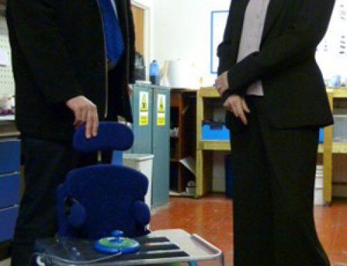 Chris Grayling nominates Epsom based MERU for MADE FOR BRITAIN – April 2012