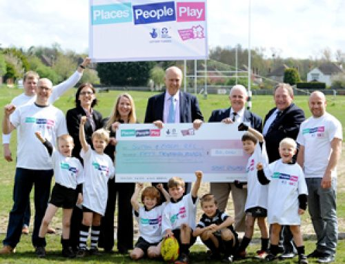 Sutton and Epsom Rugby Club secures £50,000 of Olympic legacy funding from Sport England's Inspired Facilities Fund – April 2012