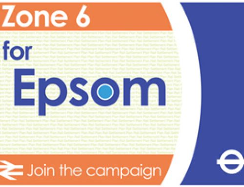 Chris Grayling leads campaign to extend Epsom station into Zone 6 – May 2012