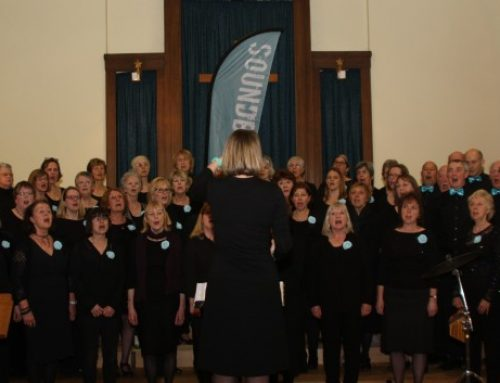 Soundbytes Choir raise £1200 for Age Concern Epsom & Ewell