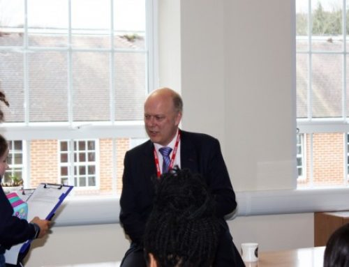 Visit to Nonsuch School