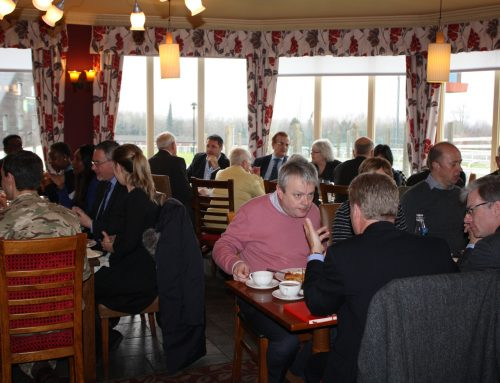 Chris hosts Business Breakfast