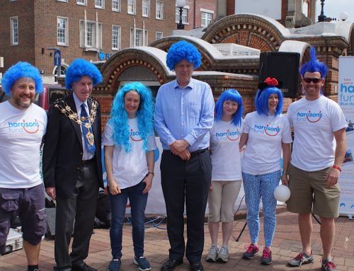 Local Dignitaries go Blue to Support Surrey Charity