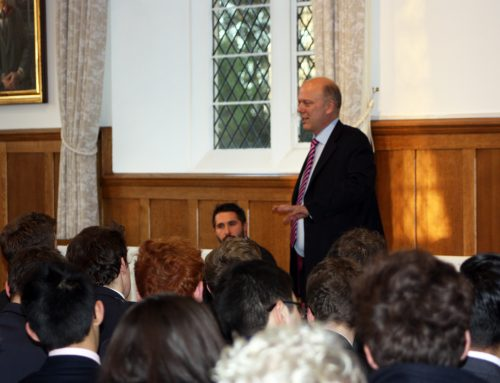 Chris Visits Epsom College