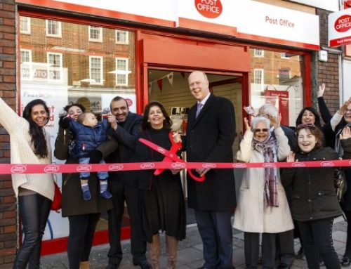 Epsom Post Office Reopens