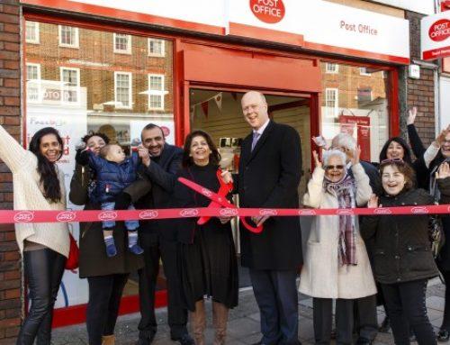 Epsom Post Office Reopens