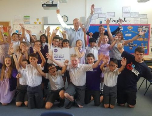 Chris Visits Southfield Park Primary School for Money Initiative