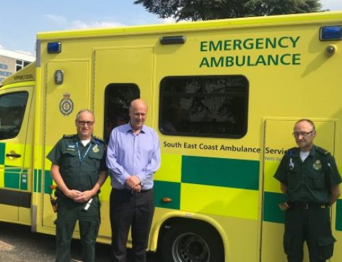 Chris Celebrates 70th Anniversary of NHS