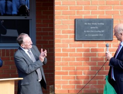 Kingswood House Opens Peter Brooks Senior School Building