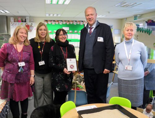 Epsom Downs Primary School Awarded Prestigious Marjorie Boxall Quality Mark Award