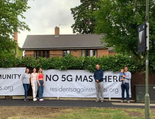 Campaigning Against Phone Mast – Worcester Park