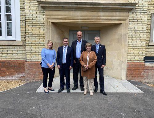 Housing Minster Robert Jenrick Visits Epsom